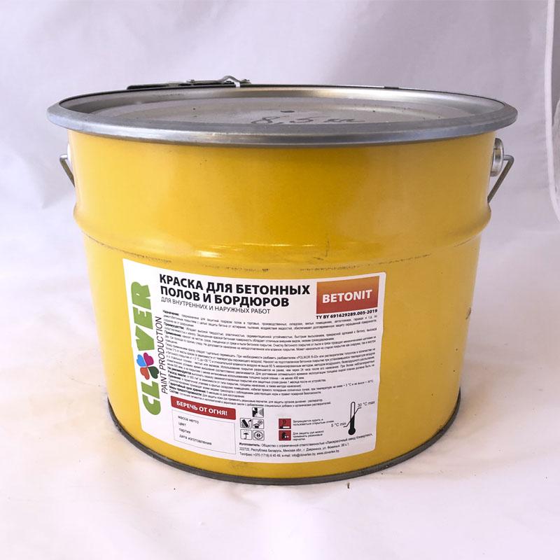 Краска Betonit для бетонных полов Кловетекс