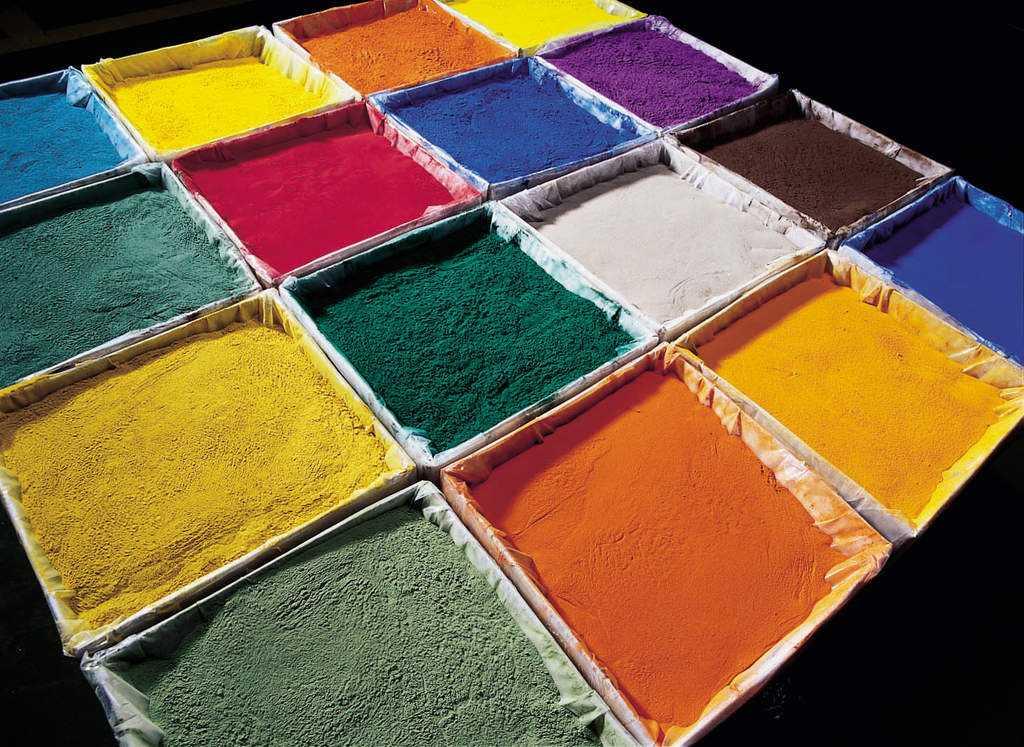 Порошковая краска Кловертекс